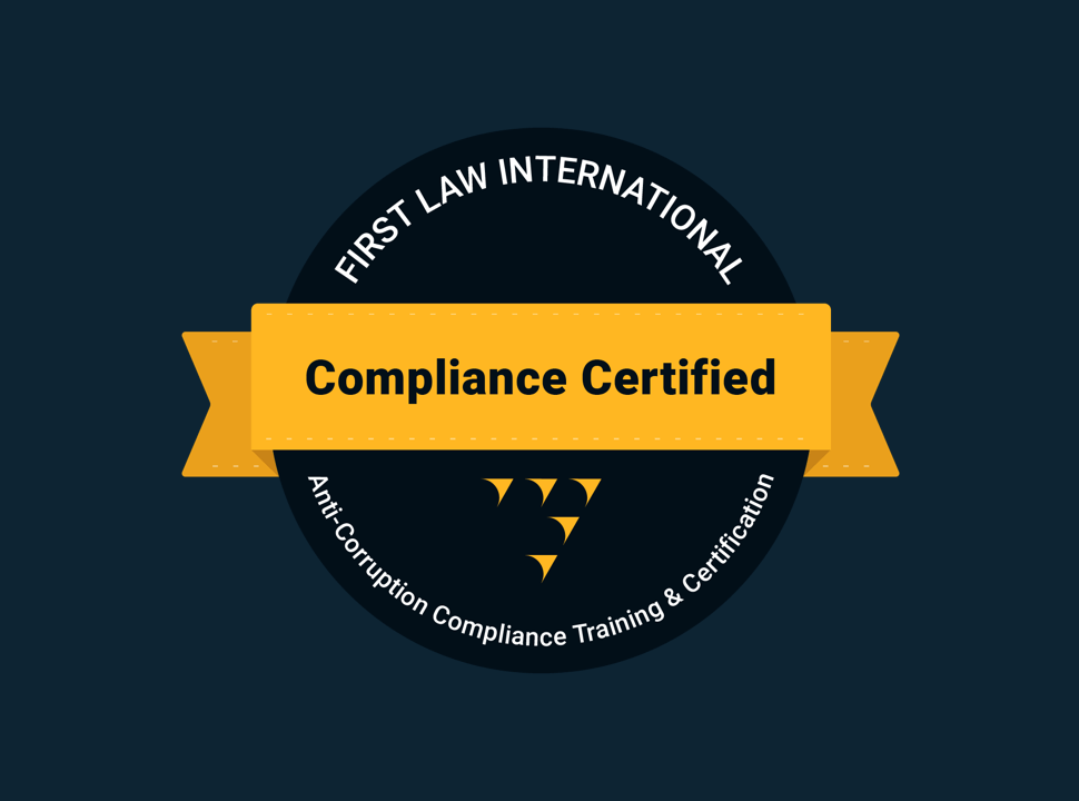 Anti-Corruption Compliance Certification Training